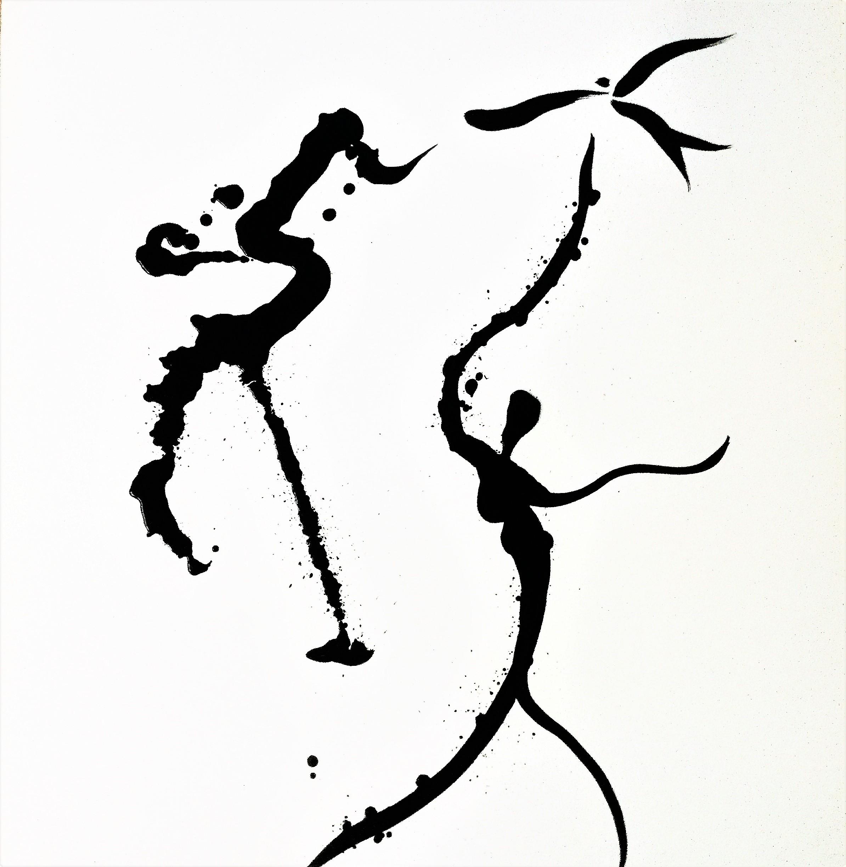 10_Abro la ventana - ink on paper (23 in x 29 in)