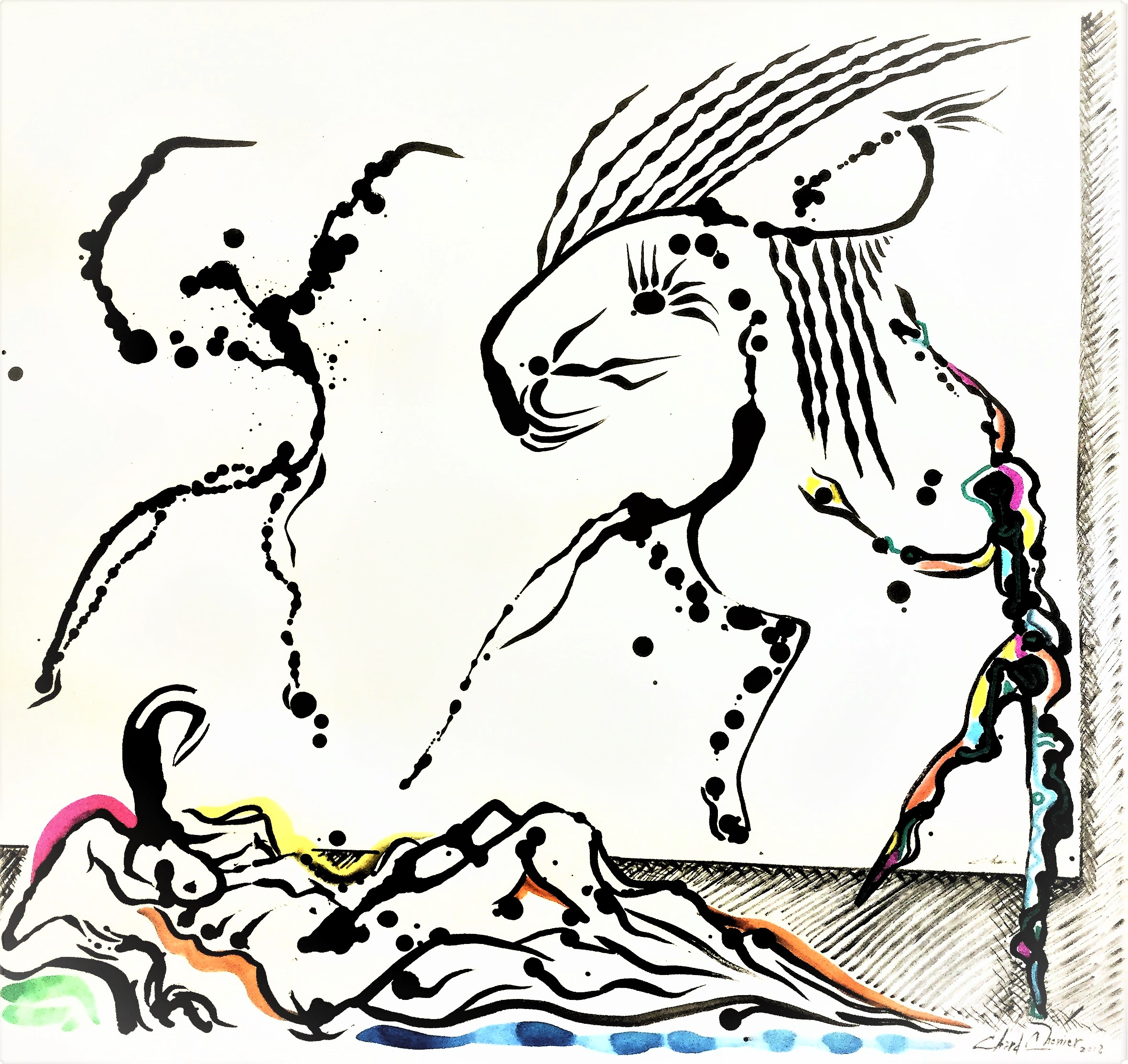 Wound-of-Goodness-Ink-on-paper-29-in-x-23-in
