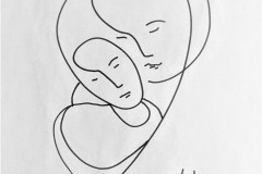 Affection-Ink-line-drawing-8-in-x-11-in